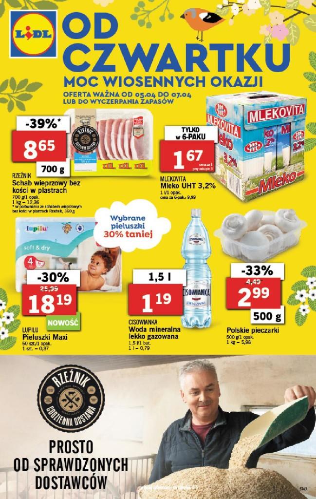 Газетка Lidl 05.04-07.04