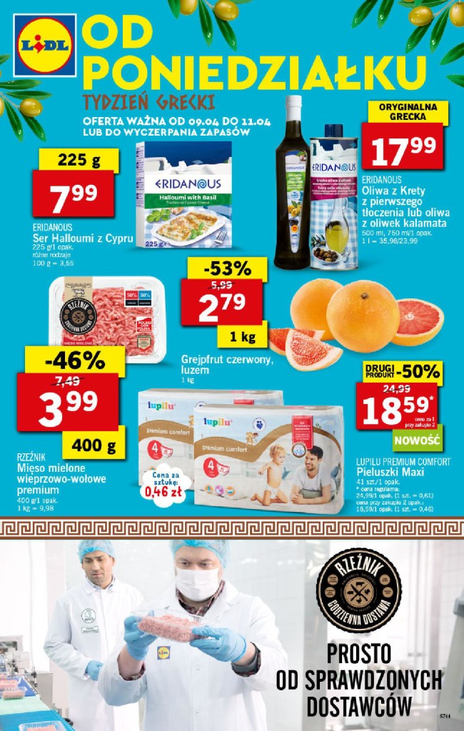 Газетка Lidl 09.04-11.04