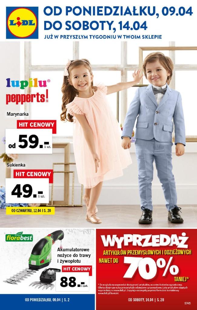 Газетка Lidl 09.04-14.04