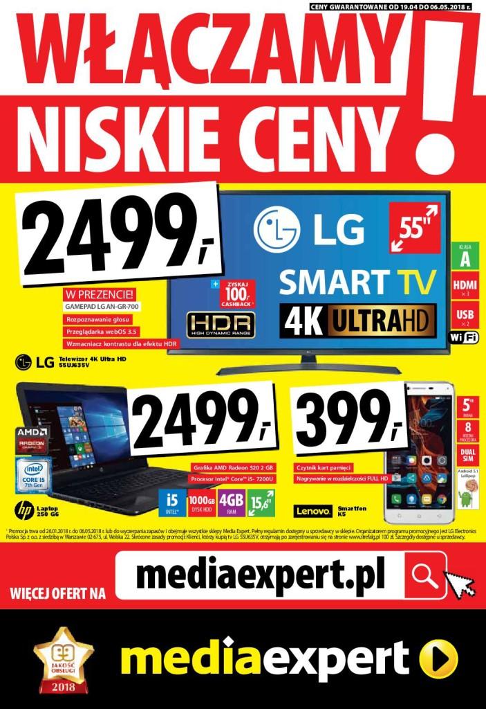 Газетка Media Expert 19.04-06.05