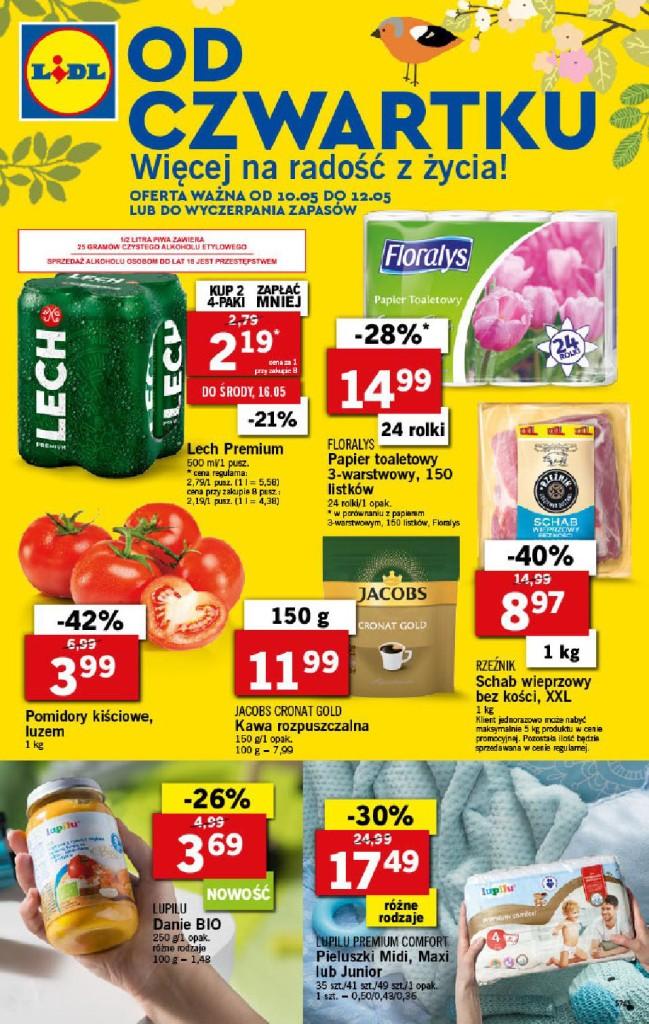 Газетка Lidl 10.05-12.05