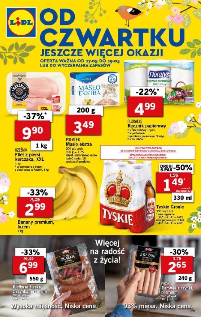 Газетка Lidl 17.05-19.05