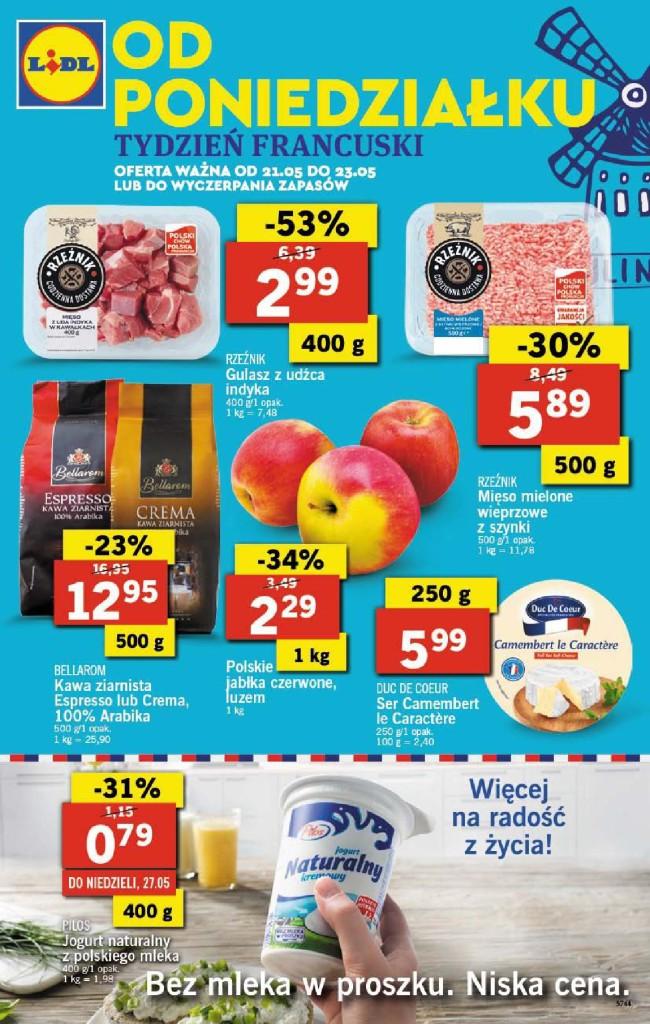 Газетка Lidl 21.05-23.05