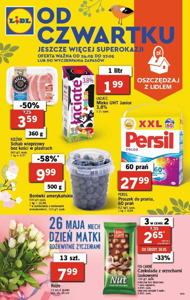 Газетка Lidl 24.05-27.05