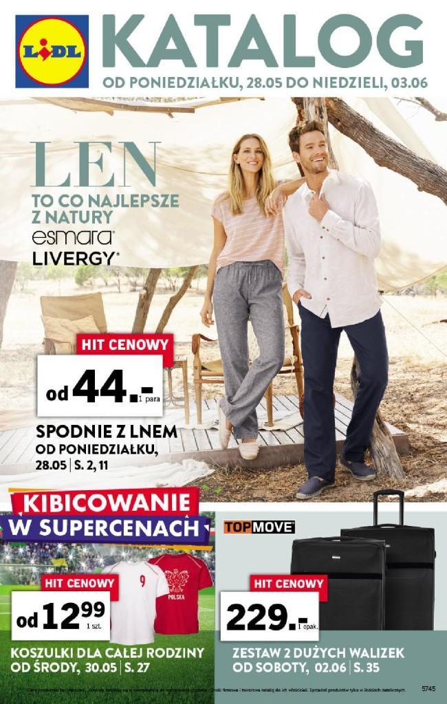 Газетка Lidl 28.05-03.06