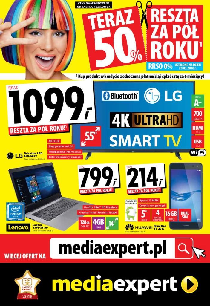 Газетка Media Expert 07.05-16.05