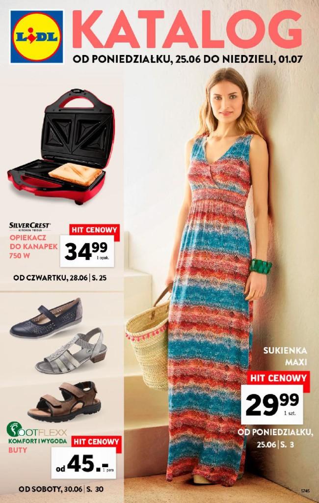 Газетка Lidl 25.06-01.07