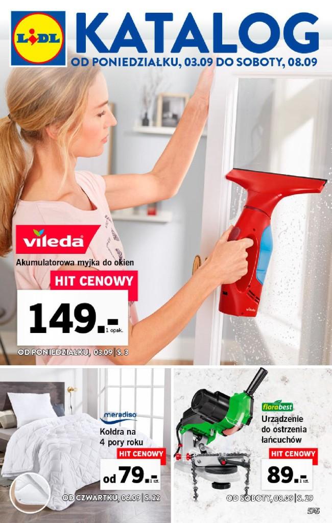 Газетка Lidl 03.09-08.09
