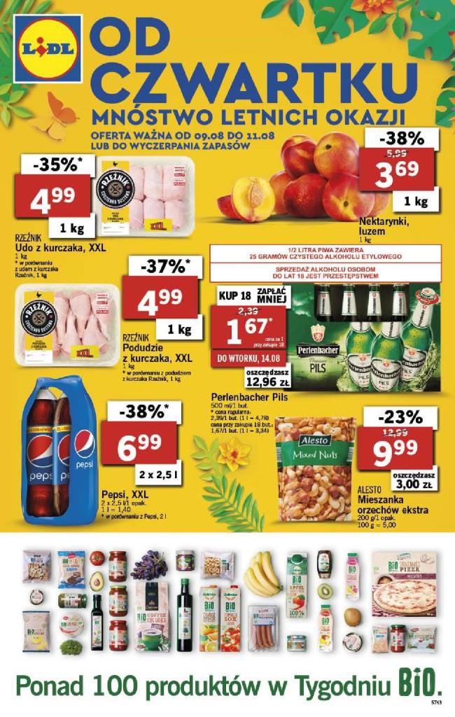 Газетка Lidl 09.08-11.08