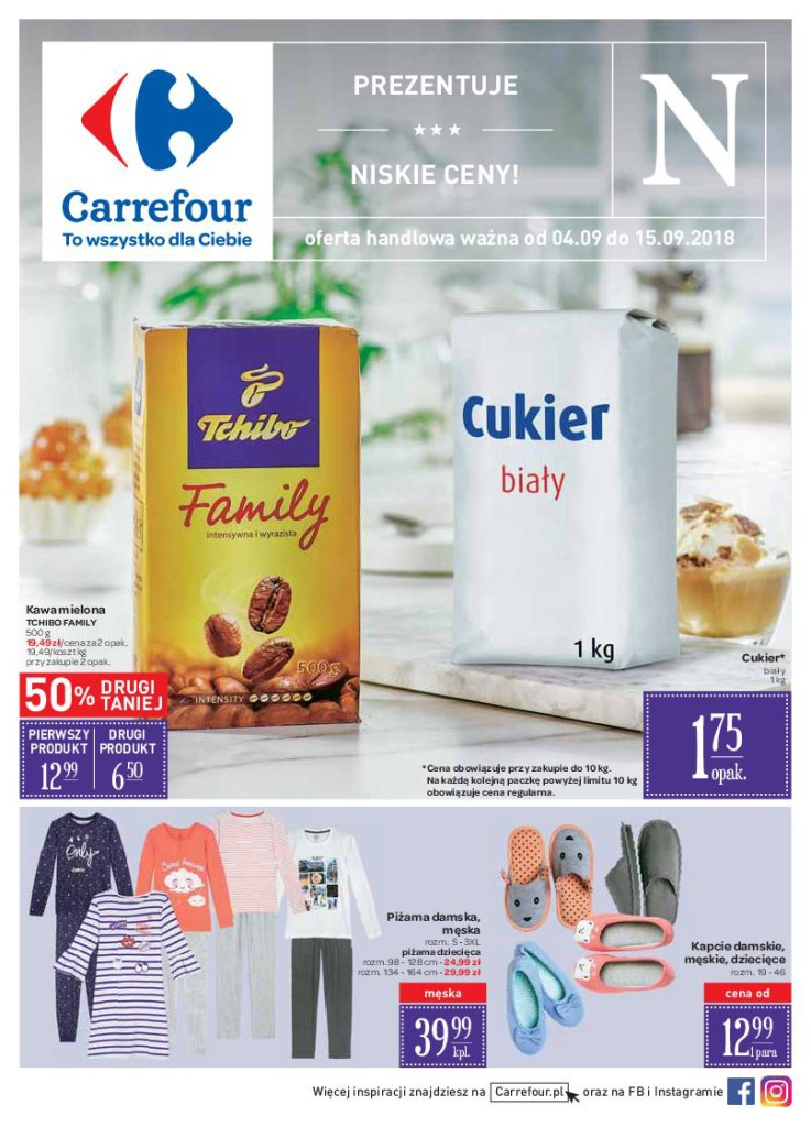 Газетка Carrefour 04.09-15.09