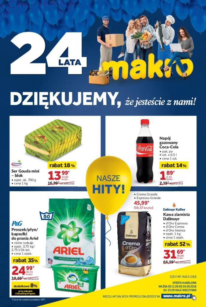 Газетка Makro 10.09-24.09