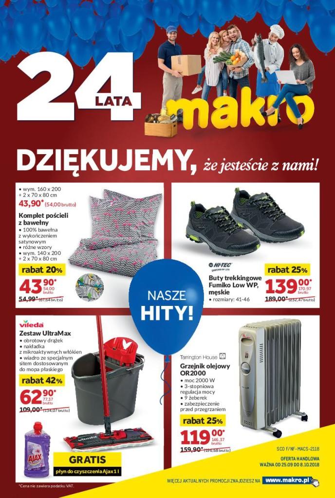 Газетка Makro 24.09-08.10