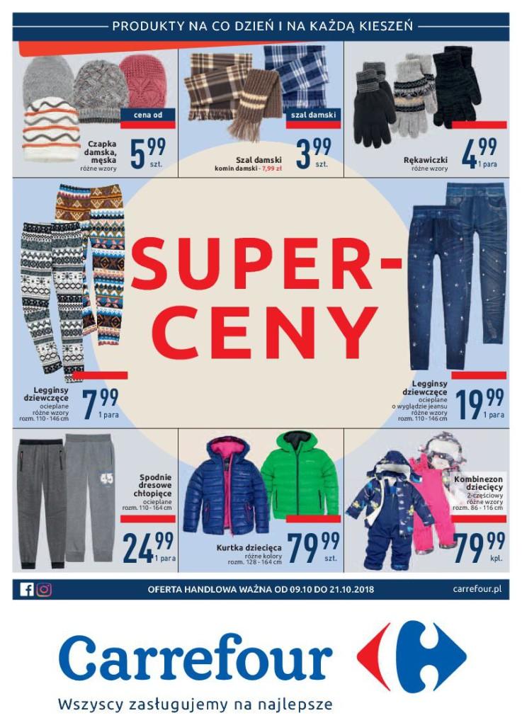 Газетка Carrefour 09.10-21.10