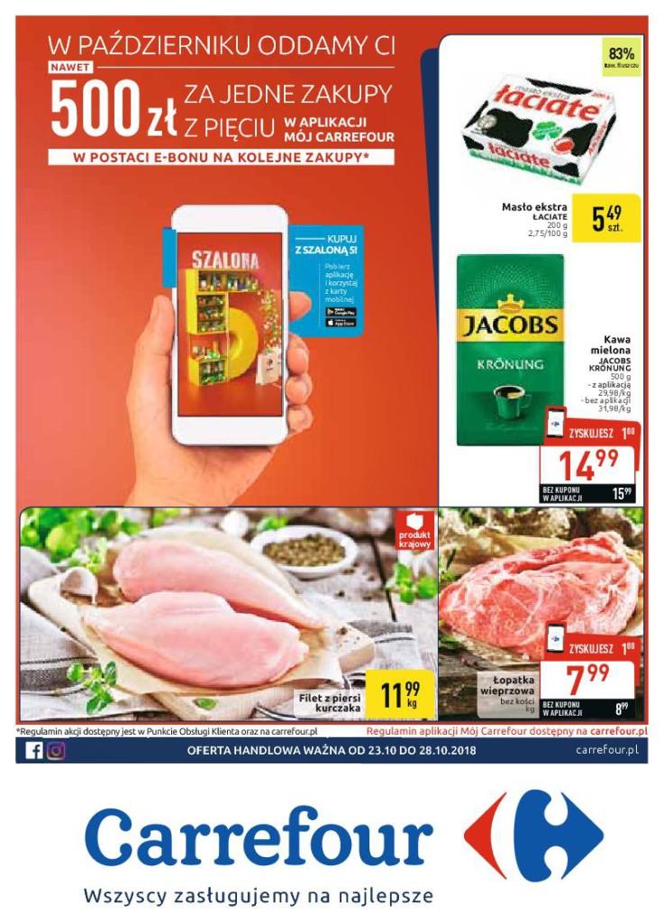 Газетка Carrefour 23.10-28.10
