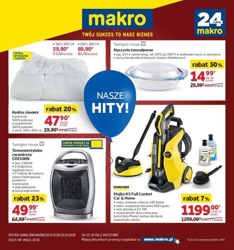 Газетка Makro 09.10-22.10