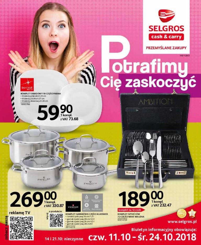 Газетка Selgros 11.10-24.10