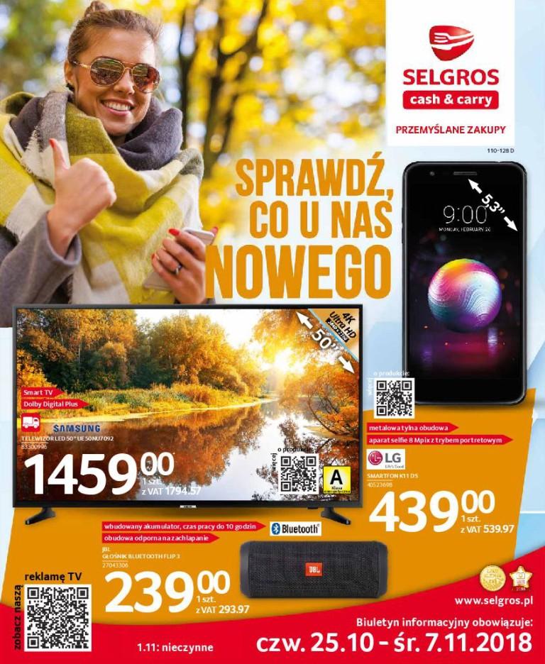 Газетка Selgros 25.10-07.11