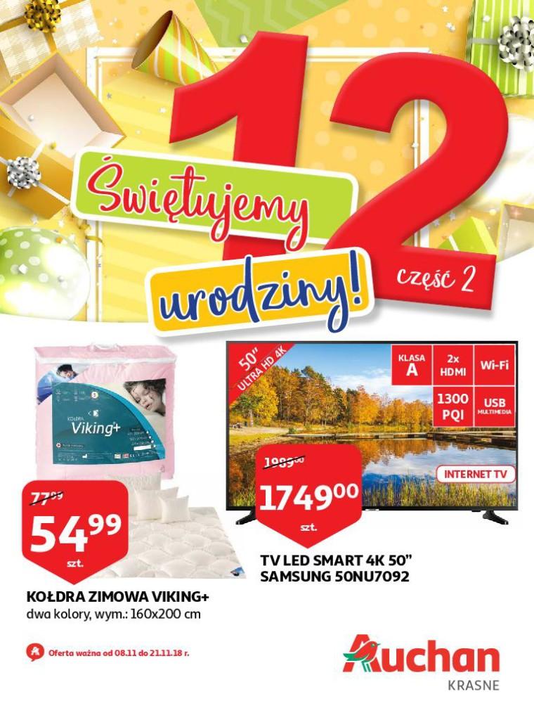 Газетка Auchan 08.11-21.11