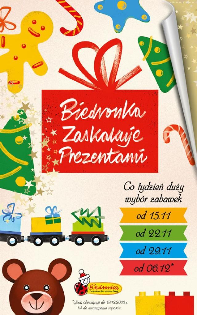 Газетка Biedronka 15.11-19.12