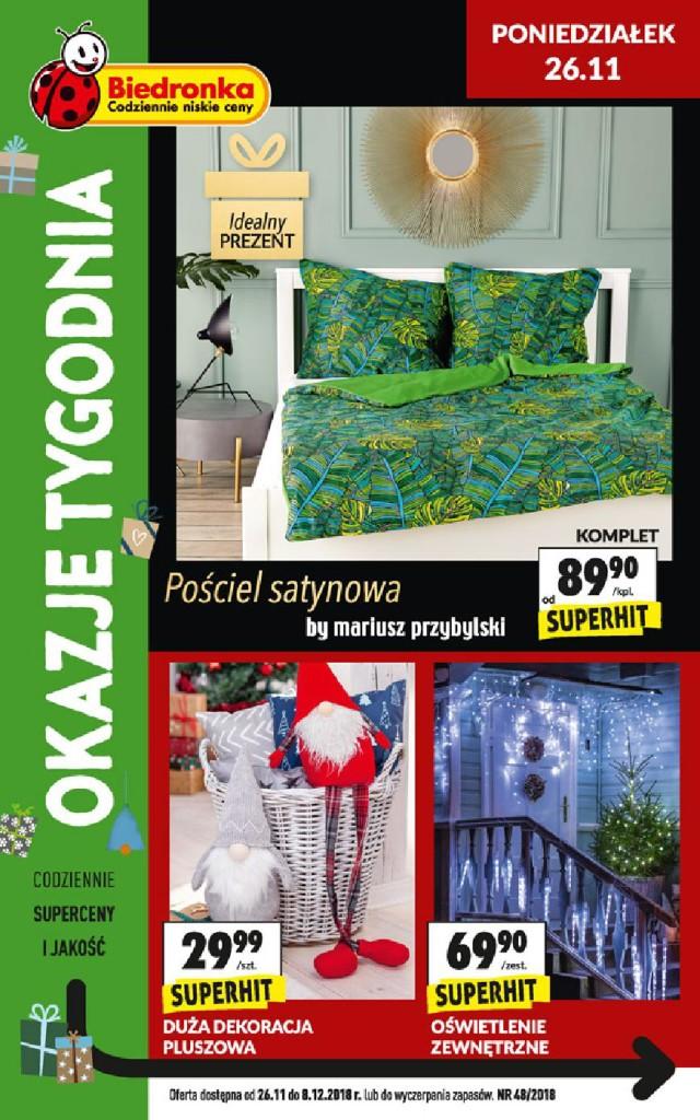 Газетка Biedronka 26.11-08.12