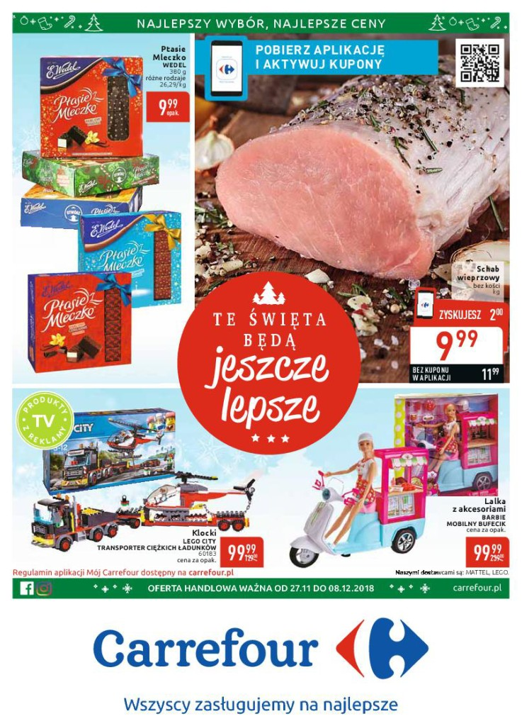 Газетка Carrefour 27.11-08.12