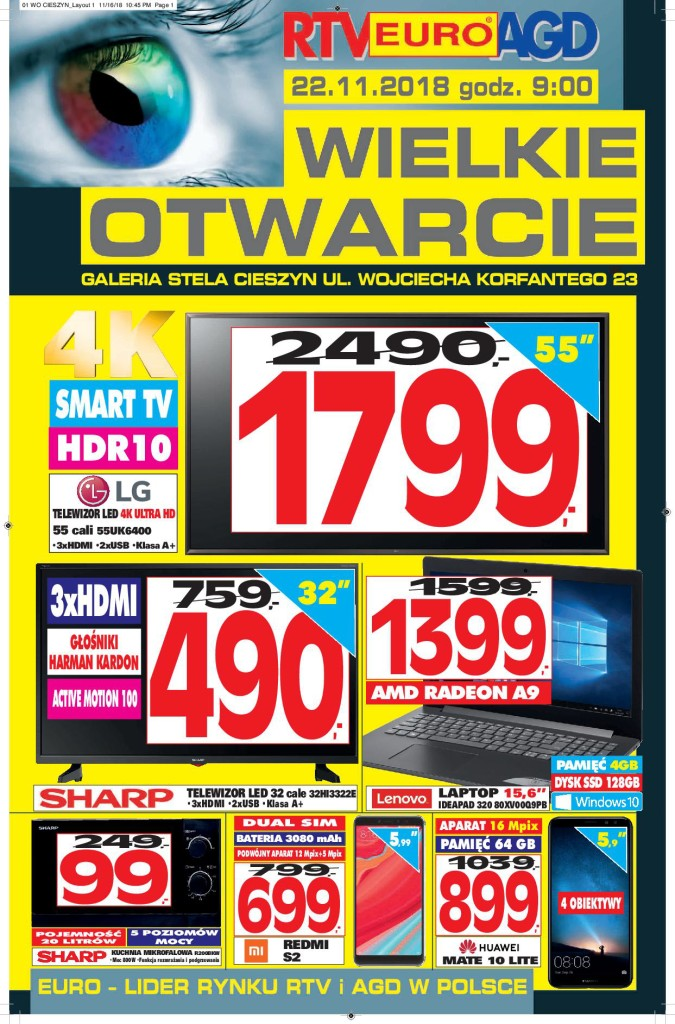 Газетка RTV EURO AGD 22.11-25.11