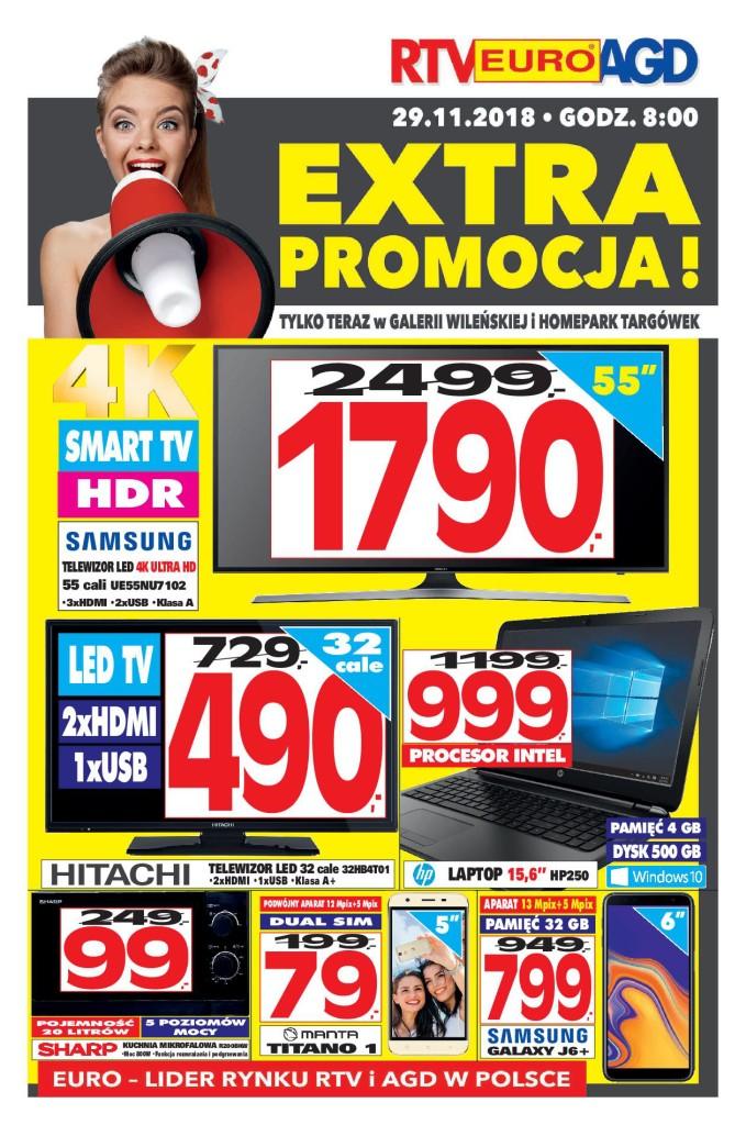 Газетка RTV EURO AGD 29.11-02.12