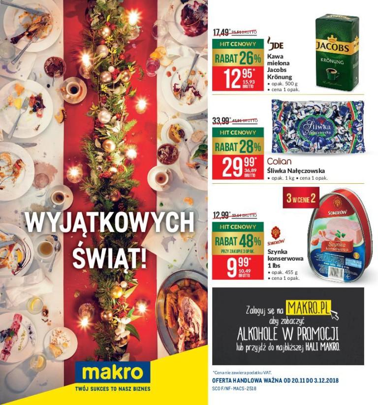 Газетка Makro 20.11-24.12