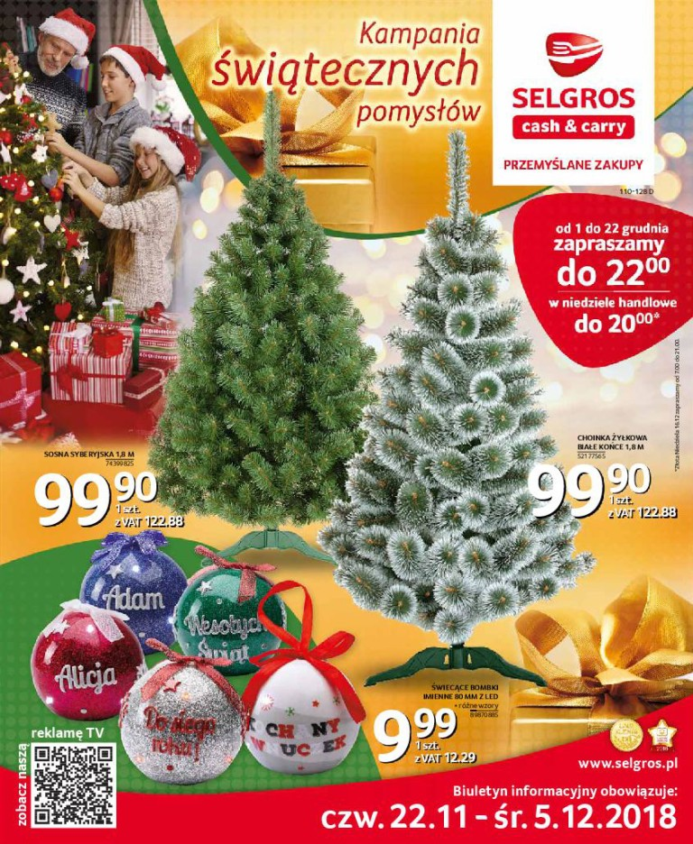 Газетка Selgros 22.11-05.12