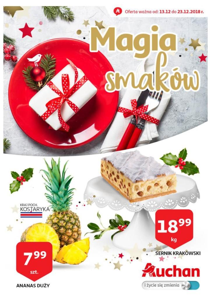 Газетка Auchan 13.12-23.12