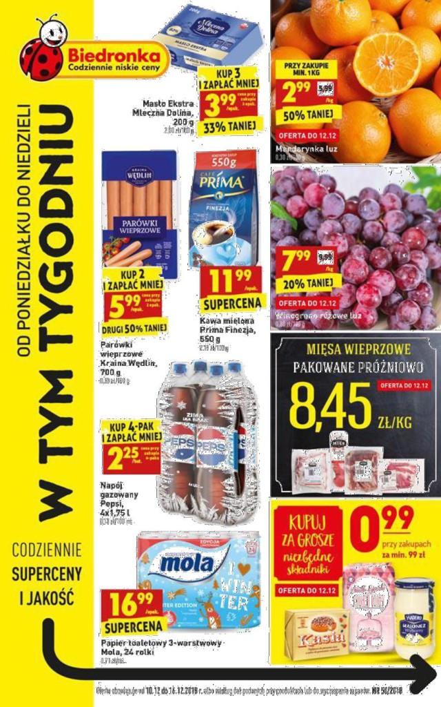 Газетка Biedronka 10.12-16.12