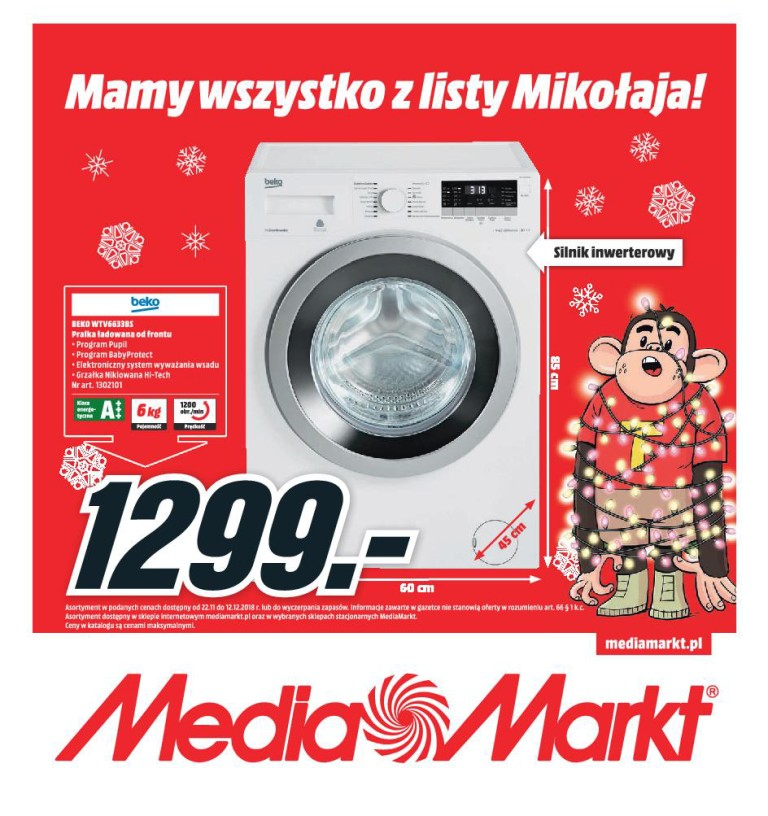 Газетка Media Markt 22.11-12.12